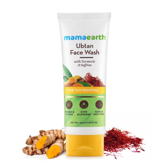 Ubtan Face Wash for Tan Removal