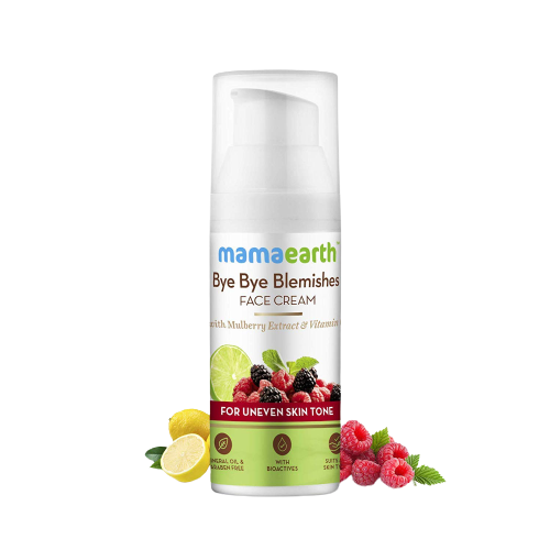 Mama Earth Bye Bye Blemishes Face Cream