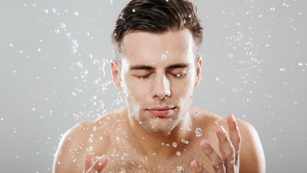 face wash for a man